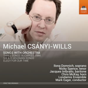 Songs with Orchestra (CD) | Michael Csanyi Wills